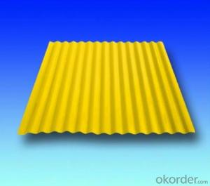 Colorful Anti-corrosive Corrugated Roofing Sheet/Color Coated Steel Coil/Al-Zn plate/PPGI