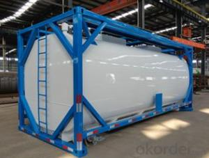20FT Shipping Tank Container for Storing Fuel and Gas
