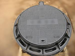 Manhole Cover of Cast Iron for Morocco on Sale