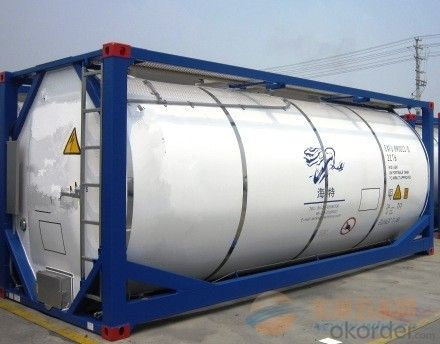 Heavy Duty Tank Container for transporting Oil and Gas
