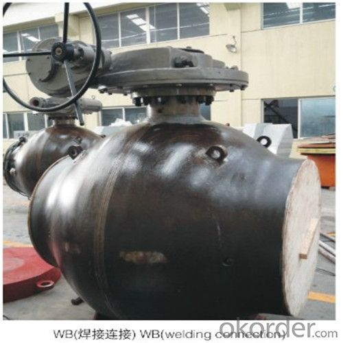 Pipeline Ball Valve-Reduced Bore High-Performance PN 5 Mpa