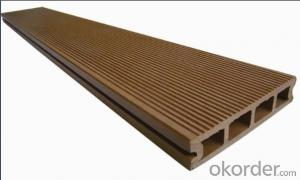 Waterproof WPC Decking For Outdoor/2015Hot Sale Solid Hollow