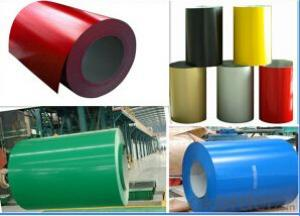 Coated Steel, PPGI / Prepainted Galvanized Steel Coil