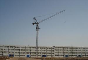 12 Tons Luffing Jib Tower Crane QD228 With 50m Jib