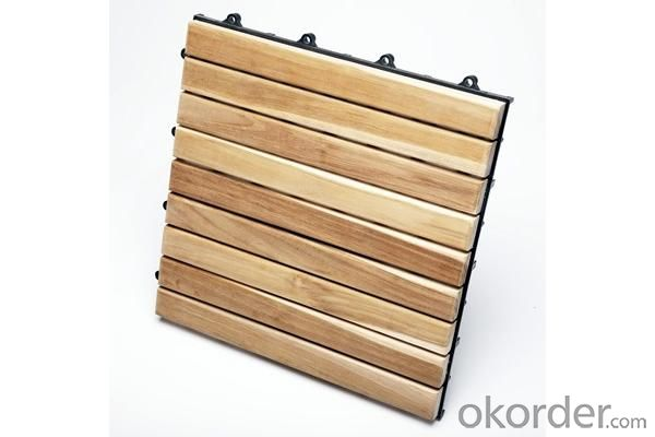 WPC decking/Factory supply cheap price Anti slip Waterproof,UV resistant wood plastic composite