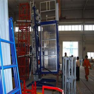Building Hoist Lifter SC320 Frequency Conversioon