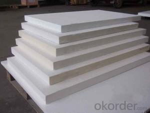 Ceramic Fiber Board Low Density High Strength Heat Insulation