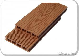 WPC decking/CE Certificated Hollow WPC Decking