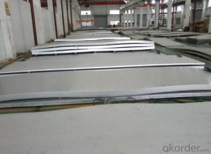 Stainless Steel plate 202 with No.4 Surface Treatment