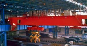 20/5-32/5t Electromagnetic Overhead Crane with Auxiliary Hook