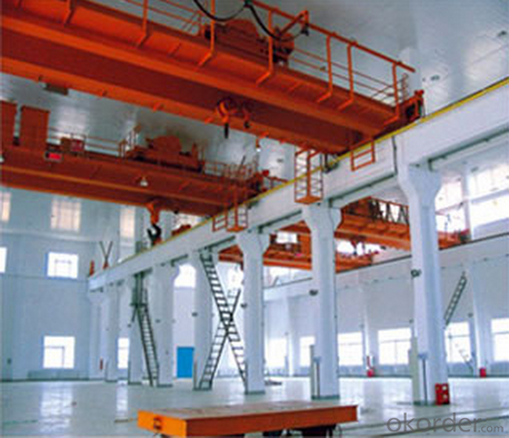 (5+5) - (25+25) T Suspension Beam Overhead Crane (vertical main beam)