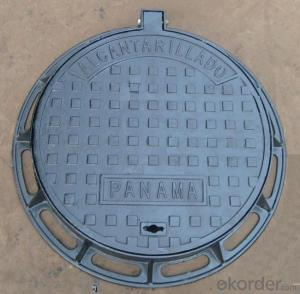 Manhole Cover Ductile Cast Iron on Hot Sale Heavy Telecom Sew