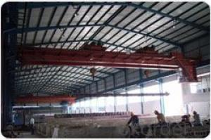 Double trolley double beam overhead crane