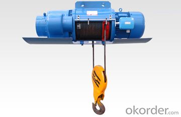 Heavy duty casting wire rope electric hoist