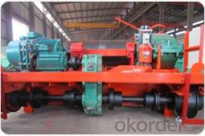 Heavy duty electric trolley for double girder overhead crane and gantry crane