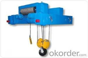 Europe style double rail electric hoist