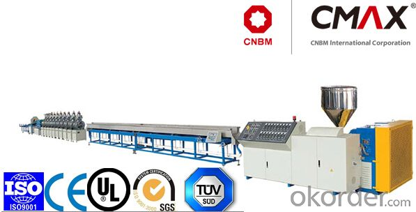 CMAX Output  PS Foamed Picture Frame Extrusion Line