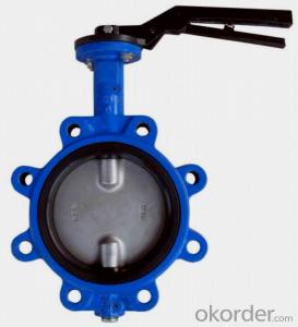 Butterfly Valve Pneumatic Double Flange Made In China