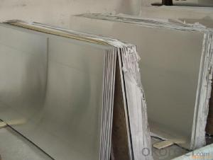 Stainless Steel 304 Mettal Sheet with No.4 Surface Treatment