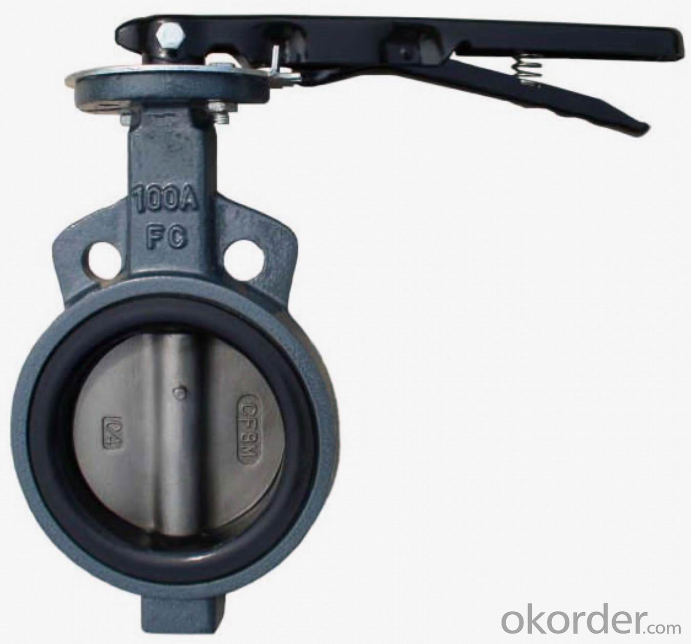 Butterfly Valve Plastic Handle Made in China on Hot Sale