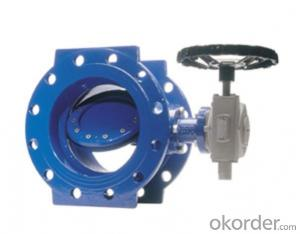Butterfly Valve with Plastic Handle Made in China on Good Sale