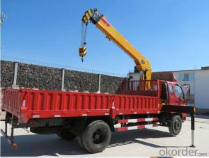 truck mounted crane BJ1149VKPEG 7ton lifting tools and equipment