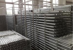 Ring Lock Scaffolding System for High-rise Construction in Formwork