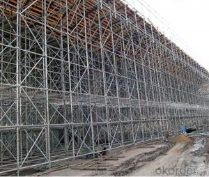 Ring Lock Scaffolding System with High Load Capacity