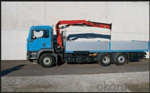 Mounted Truck 8x4 with Hydraulic Telescopic Crane 16ton(21m high)