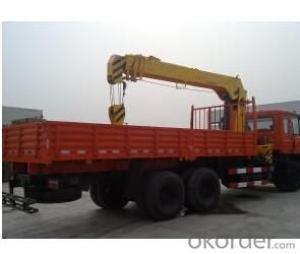SNIO truck with 8ton boom crane 5tone to 8tone