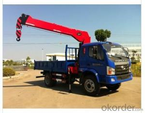 truck mounted crane tipper tray RHD with crane 5ton