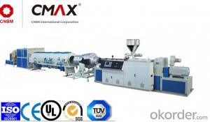 UPVC Pipe And CPVC Solid Pipe Plastic Extruder Line