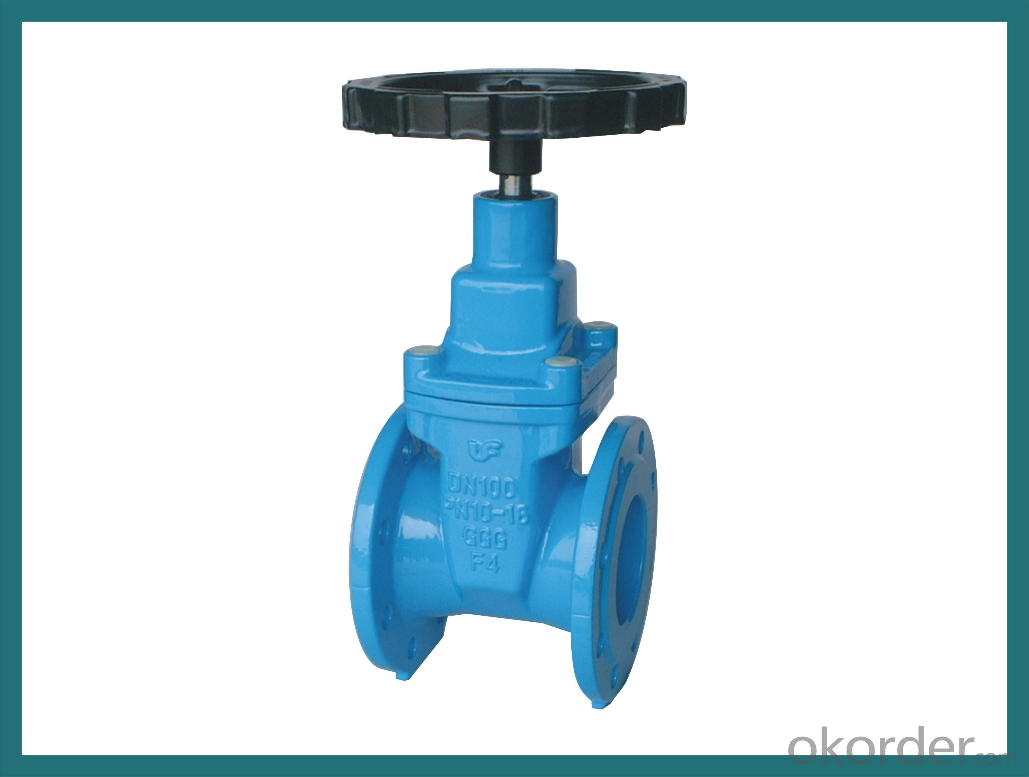 Gate Valve with Competitive Price with 60year Old Valve Manufacturer