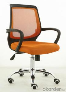 Office Chair mesh fabric for chair with Low Price Orange