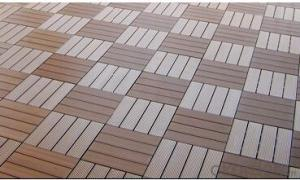 Wpc Interlocking Decking Tiles Eco-freindly