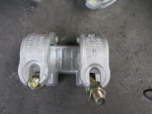 Galvanized Forged Double Sleeve Coupler 48.3