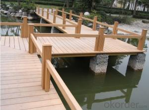 Hardwood Decking best sell made in China