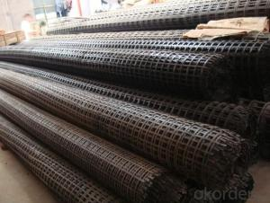 Glass Fiber Geogrid with CE Certificate  for Construction