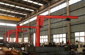 360 Degree Slewing Arm Pillar Jib Crane