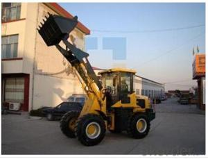 Wheel mini loader with bucket capacity  of  0.7-1.2 m3