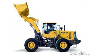 SDLG Brand Wheel Loader with 6ton Loading Capacity LG968