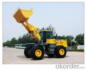 Wheel loader with bucket capacity  of 0.5 m3