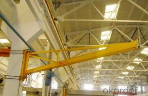 Light Duty 180 Degree Wall Mounted Jib Crane