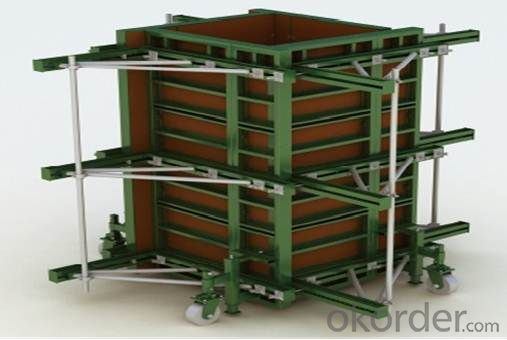 Steel Frame Formworks with Q345 Steel in Chinese Construction Building