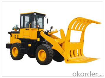 Wheel loader with bucket capacity  of 1.0 m3