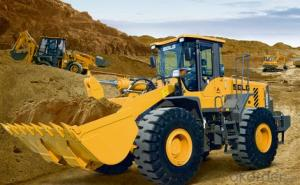 SDLG Brand Wheel Loader with 5ton Loading Capacity LG958L