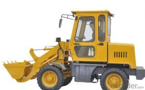 Wheel loader with bucket capacity  of 0.4 m3