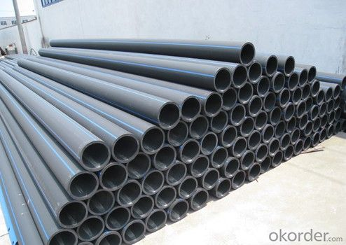 DN180mm HDPE pipes for water supply China manufacturer