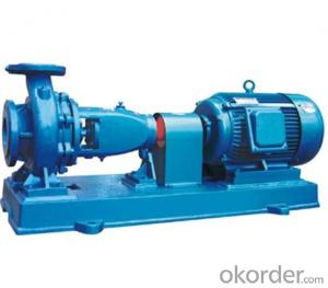 Single Stage End Suction Centrifugal Pump XA Series