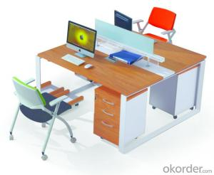 Office Desk Commerical Table MDF/Glass with Low Price 30333